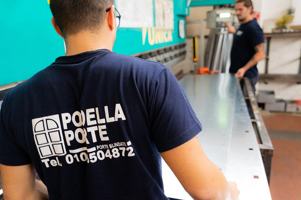 Podella Porte - Daniele Podella in Laboratorio