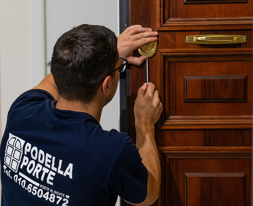 Podella Porte - Apertura e riparazione serrature e porte bloccate