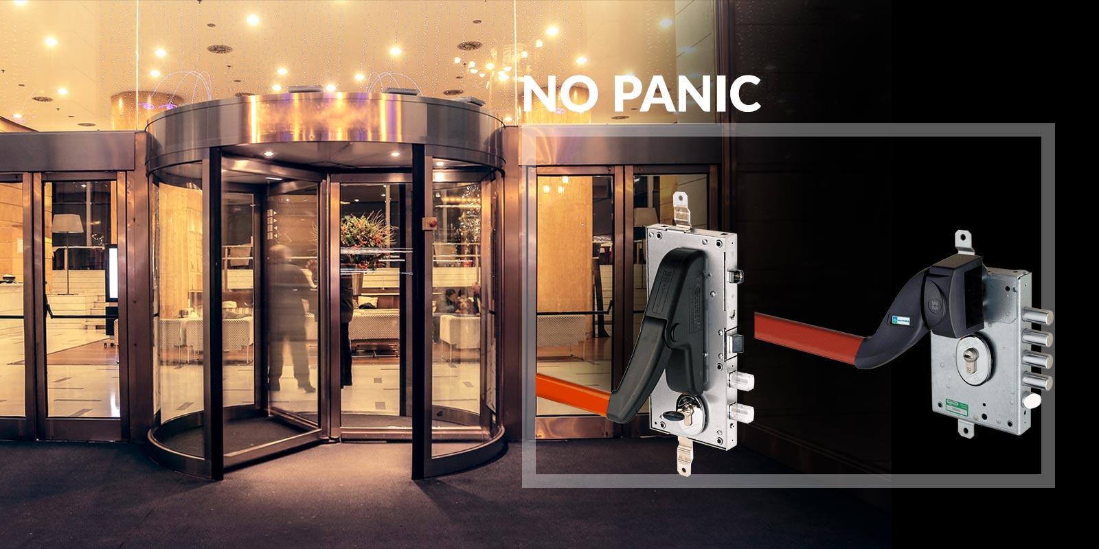 Podella Porte - Porta blindata LERICI No Panic