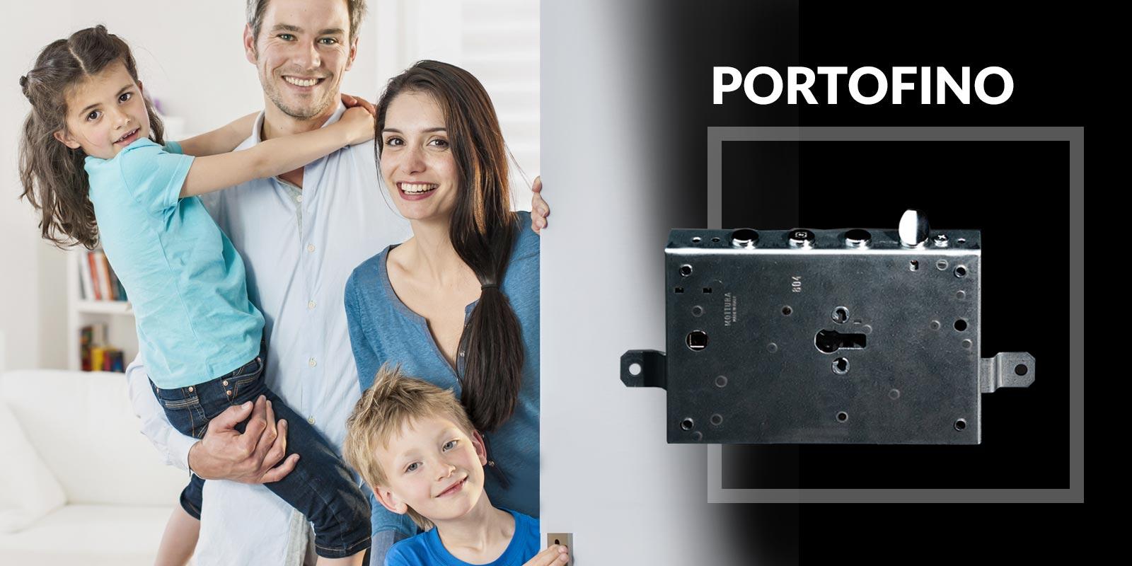 Podella Porte - Porta blindata PORTOFINO - Cilindro Europeo